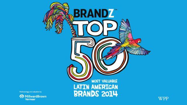 BrandZ Top 50 Most Valuable LATIN AMERICAN Brands 2014 Webinar Programme