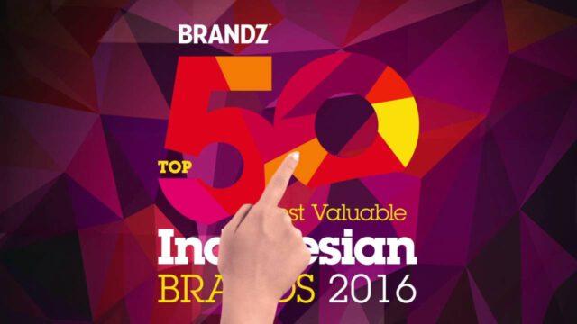 BrandZ Top 50 Most Valuable Indonesian Brands 2016- Countdown