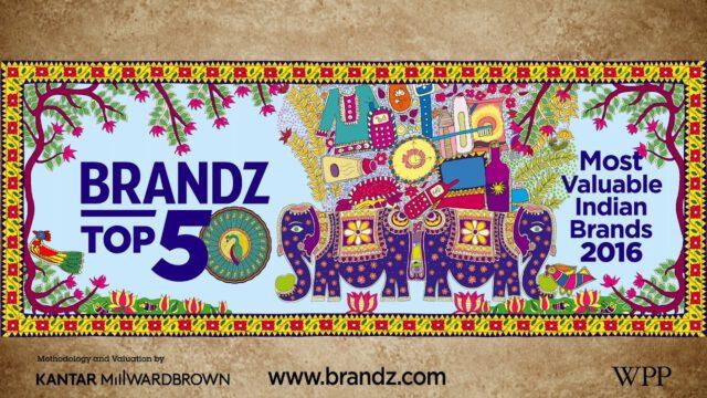 BrandZ Top 50 Most Valuable Indian Brands 2016- Countdown