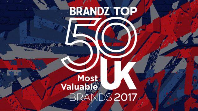 BrandZ Top 50 Most Valuable UK Brands 2017 – Countdown