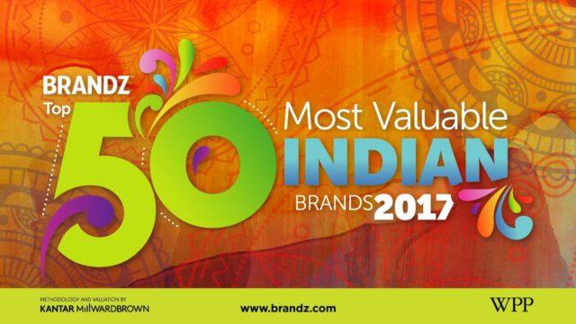 BrandZ Top 50 Most Valuable Indian Brands 2017 – Countdown