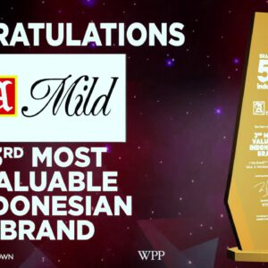 BrandZ Top 50 Most Valuable INDONESIAN Brands |2017| A Mild, 3rd Most Valuable Brand
