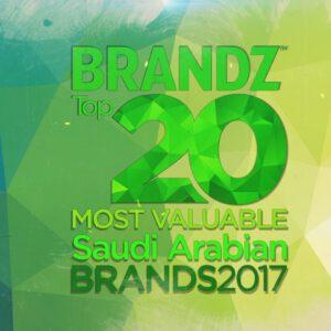BrandZ Top 20 Most Valuable Saudi Arabian Brands 2017 – Countdown