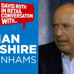 Sir Ian Cheshire, Chairman, Debenhams – WRC2017