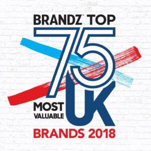 BrandZ Top 75 Most Valuable UK Brands 2018 – Countdown