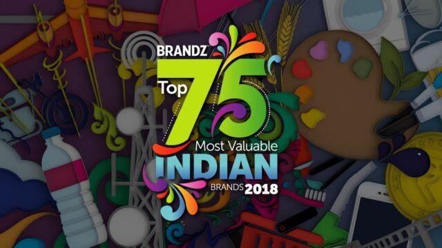 BrandZ Top 75 Most Valuable Indian Brands 2018 – Countdown