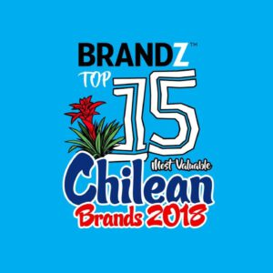 BrandZ Top 15 Most Valuable Chilean Brands 2018 – Countdown