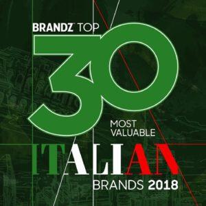 BrandZ Top 30 Most Valuable Italian Brands 2018 – Countdown