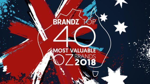 BrandZ Top 40 Most Valuable Australian Brands 2018 – Countdown