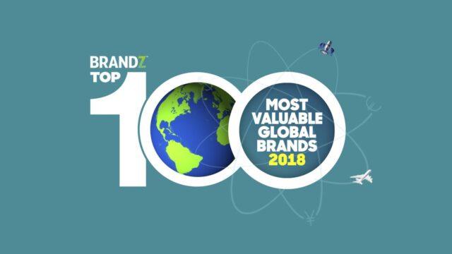 BrandZ Top 100 Most Valuable Global Brands 2018 – Countdown