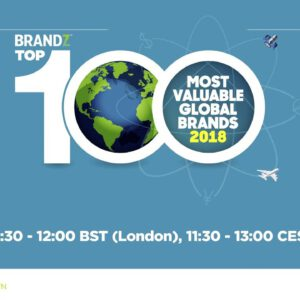 BrandZ Top 100 Most Valuable Global Brands 2018 – EMEA Web Seminar