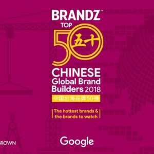 BrandZ Top 50 Chinese Global Brand Builders 2018 – Countdown (4K)