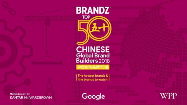 BrandZ Top 50 Chinese Global Brand Builders 2018 – Countdown (4K)