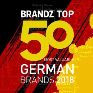 BrandZ Top 50 Most Valuable German Brands 2018 – Countdown