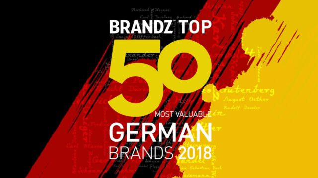 BrandZ Top 50 Most Valuable German Brands 2018 – Countdown
