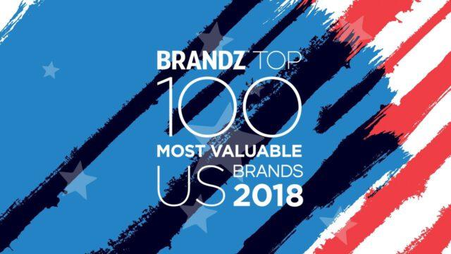 BrandZ Top 100 Most Valuable US Brands 2018 – Countdown