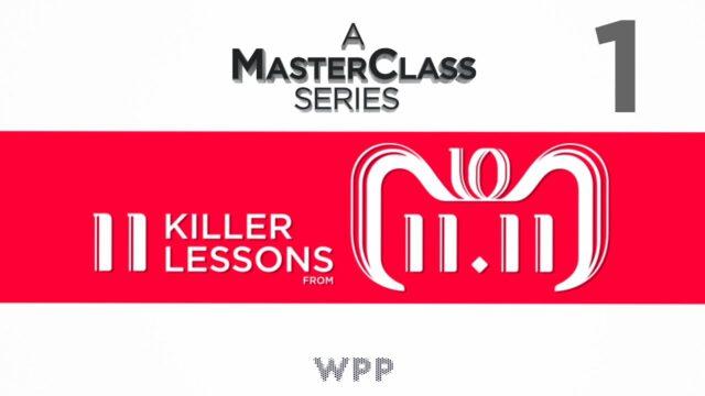 MasterClass Series | EPISODE ONE | 11/11 Alibaba Singles Day