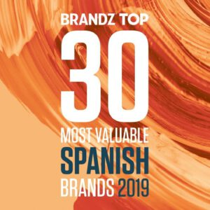 BrandZ Top 30 Most Valuable Spanish Brands 2019 – Countdown