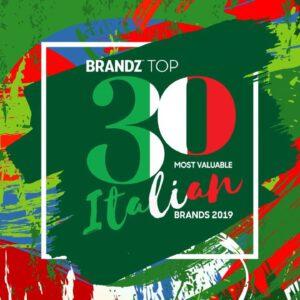 BrandZ Top 30 Most Valuable Italian Brands 2019 – Countdown