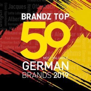 BrandZ Top 50 Most Valuable German Brands 2019 – Countdown
