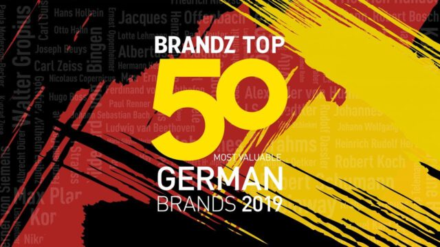 BrandZ Top 50 Most Valuable German Brands 2019 – Countdown
