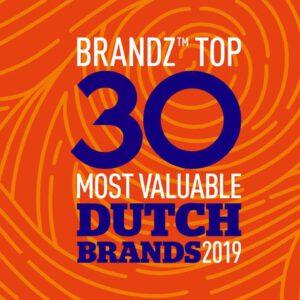 BrandZ Top 30 Most Valuable Dutch Brands 2019 – Countdown