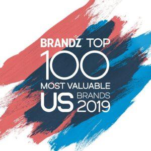 BrandZ Top 100 Most Valuable US Brands 2019 – Countdown
