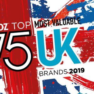 BrandZ Top 75 Most Valuable UK Brands 2019 – Countdown