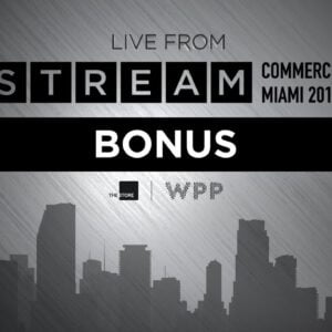 WPP STREAM COMMERCE | 2019 | BONUS
