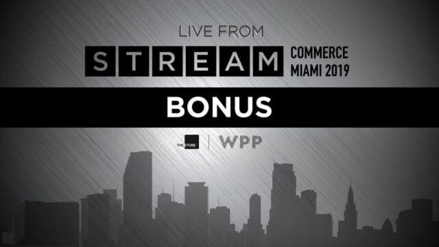 WPP STREAM COMMERCE | 2019 | BONUS