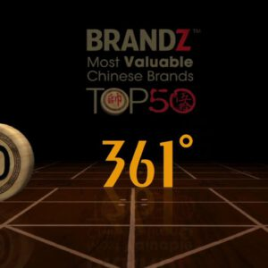 BrandZ Top 50 Most Valuable Chinese Brands 2012 | #50 | 361
