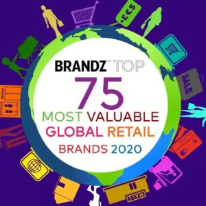BrandZ Top75 Most Valuable Global Retail Brands 2020 – Countdown