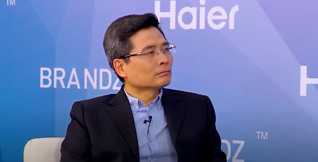 Mr. Zhou Yunjie, President Haier Group- New York Stock Exchange 2019
