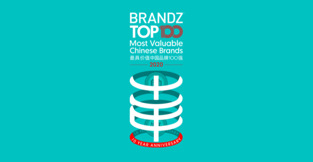 BrandZ Top 100 Most Valuable Chinese Brands 2020- Countdown
