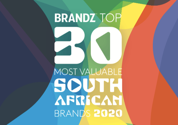 BrandZ Top 30 Most Valuable South African Brands 2020- Countdown