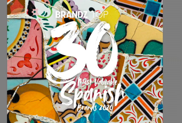 BrandZ Top 30 Most Valuable Spanish Brands 2020- Countdown