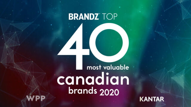 BrandZ Top 40 Most Valuable Canadian Brands 2020- Countdown