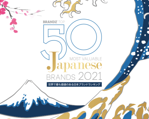 BrandZ Top 50 Most Valuable Japanese Brands 2021- Countdown