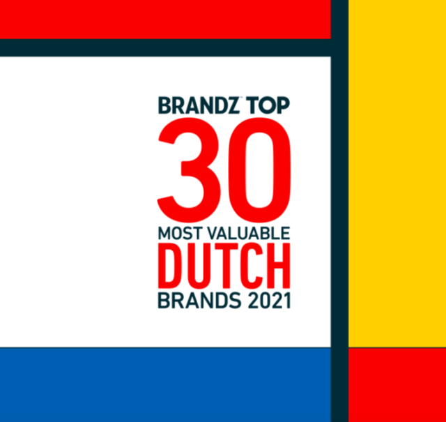 BrandZ Top 30 Most Valuable Dutch Brands 2021- Countdown
